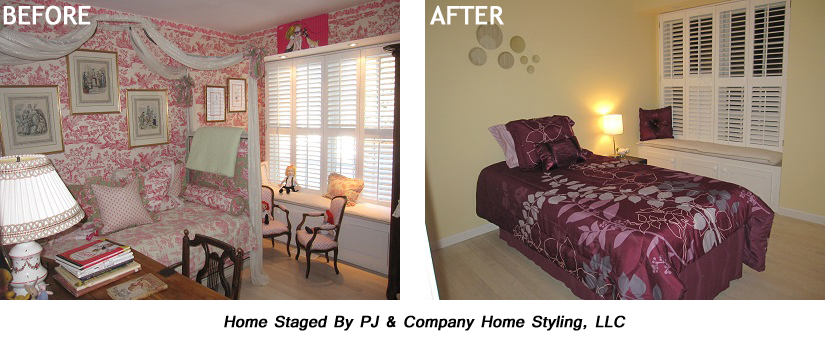 Wallpapaer Before After Small Bedroom copy