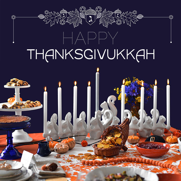 Happy Thanksgivukkah