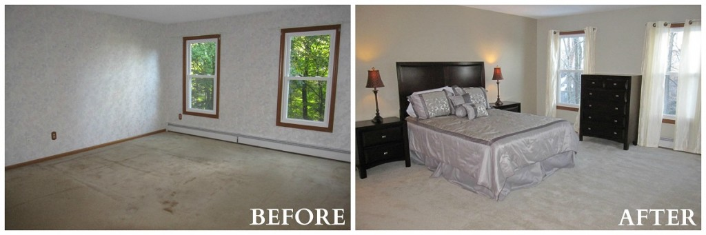 Hamden Master Bedroom Before and After RS