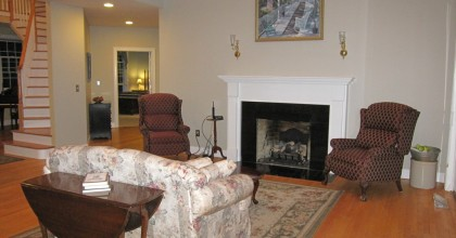 Southington, CT – Living Room Before