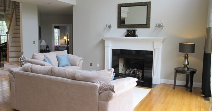 Southington, CT – Living Room After