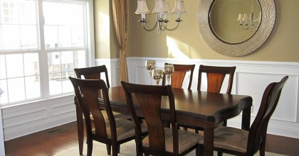 Danbury Model Home Dining Room