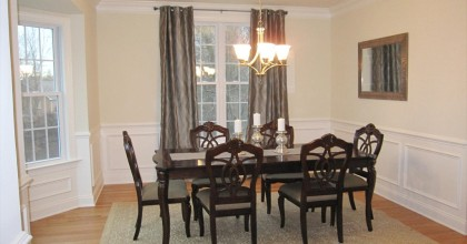 Southington Model Home Dining Room