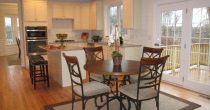 Southington Model Home Eat In Kitchen