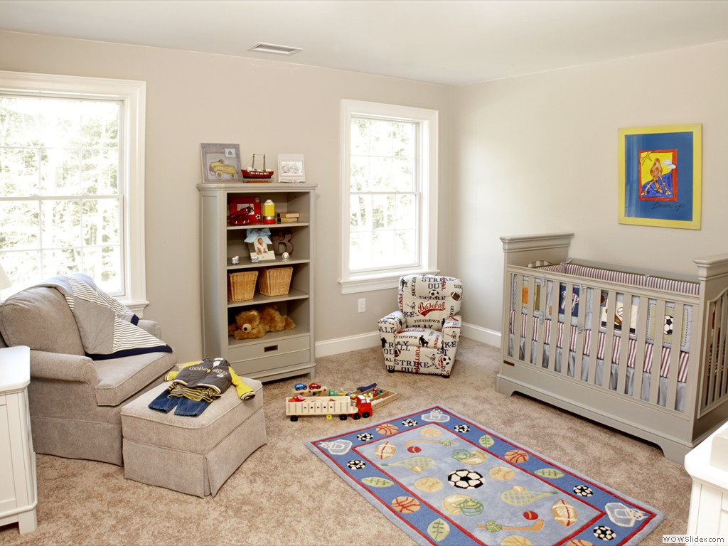 Home of distinction baby s room pj company staging and interior decor - Decoration home staging ...