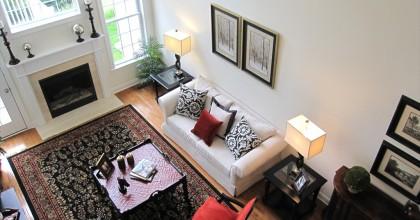 Massachussetts Model Home Great Room