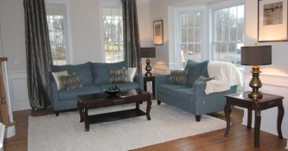 Southington Model Home Living Room