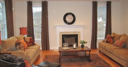 Southington Model Home Family Room