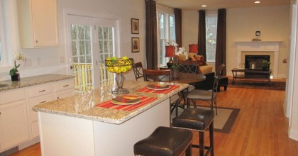 Southington Model Home Kitchen