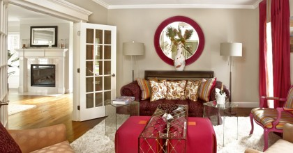 Home of Distinction Living Room