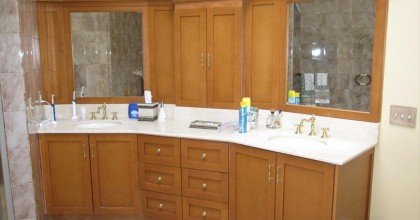 South Salem, NY – Master Bathroom Before
