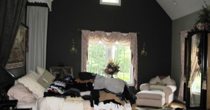 Cheshire, CT – Master Bedroom Before