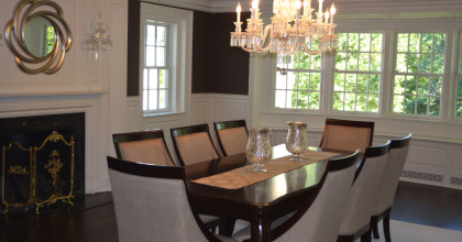 Scarborough Street, Hartford – Dining Room After