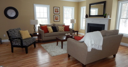 Beaudry Homes Granby, CT Family Room