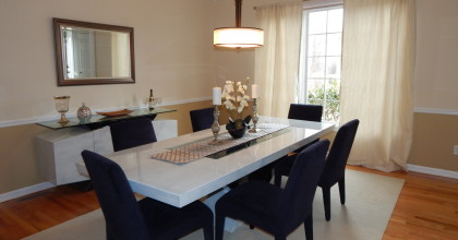 Cheshire, CT 2015 – Dining Room After