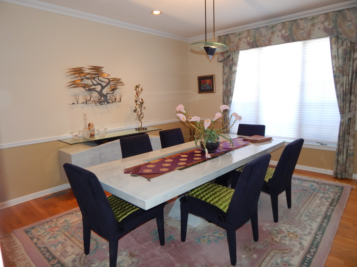 Cheshire Ct 2015 Dining Room Before Pj Company Staging And Interior Decorating