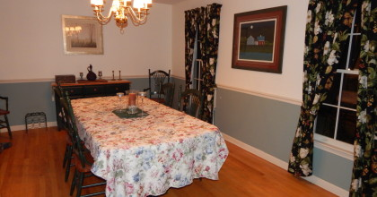 South Cheshire, CT 2015 – Dining Room Before