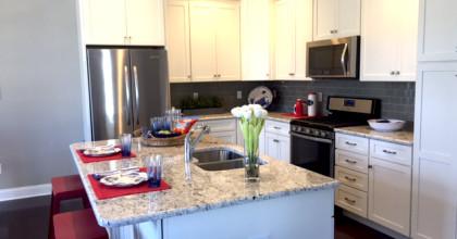 Shelton Cove, CT Model Home Kitchen